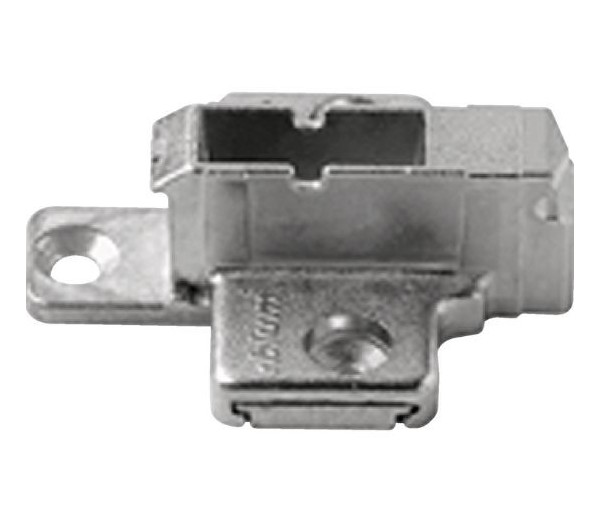 BLUM CLIP krížová montážna podložka, skrutky Spax, VN:2-dielna,odst.9mm