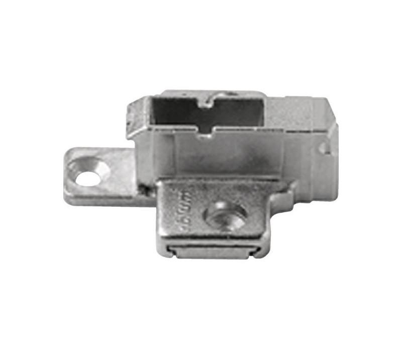 BLUM CLIP krížová montážna podložka, systémové skrutky,VN:2-dielna,odst.0mm