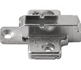 BLUM CLIP krížová montážna podložka, systémové skrutky,VN:2-dielna,odst.6mm