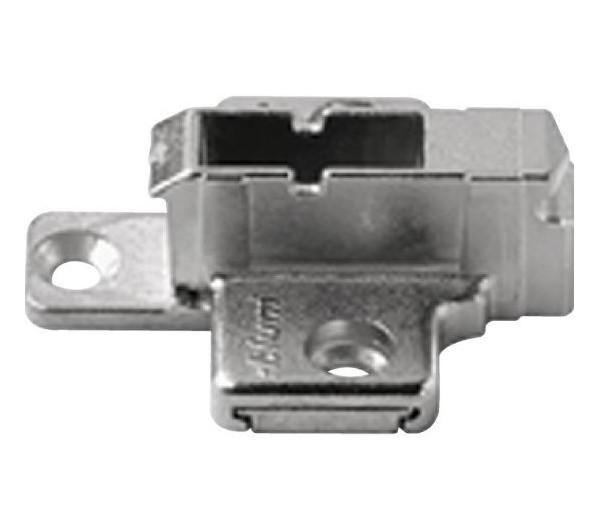 BLUM CLIP krížová montážna podložka, systémové skrutky,VN:2-dielna,odst.9mm