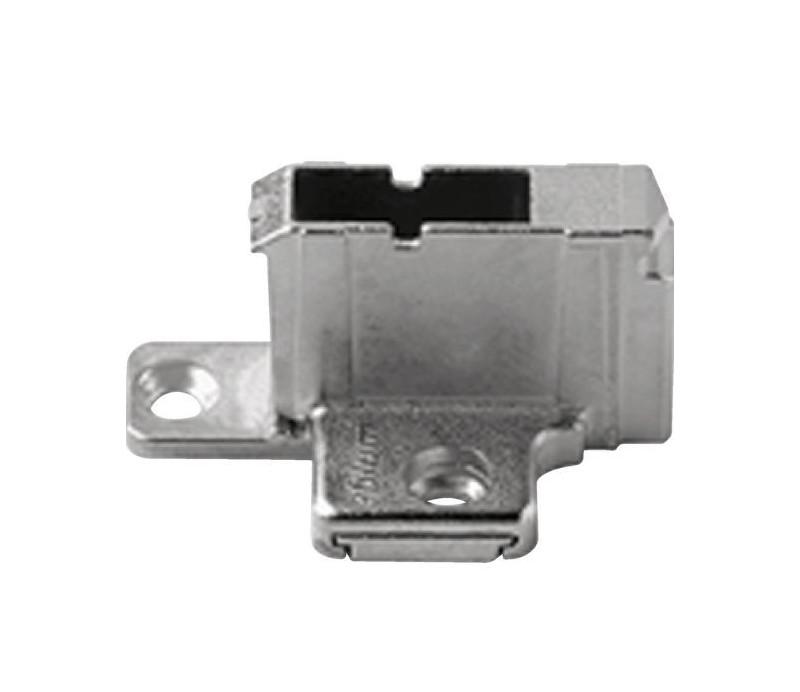 BLUM CLIP krížová montážna podložka, systémové skrutky,VN:2-dielna,odst.18mm