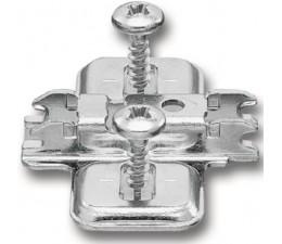 BLUM CLIP krížová mont. podložka, pBLUM CLIP krížová mont. podložka, predm.skrutky Spax, VN:pozdl.otvor,odst.0mm