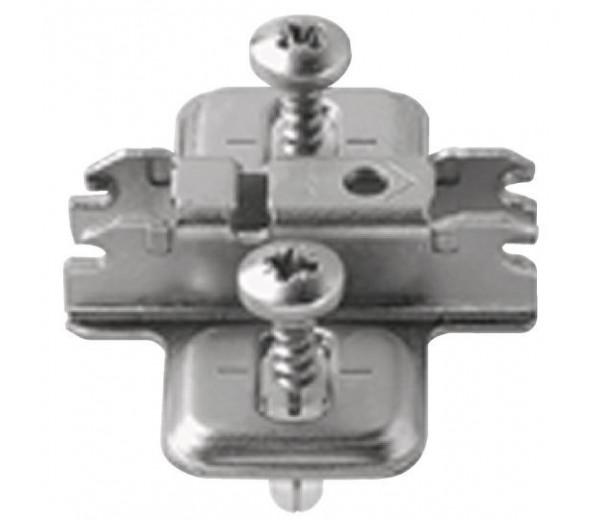BLUM CLIP krížová mont. podložka, EXPANDO, VN: pozdĺžny otvor, odst. 3 mm