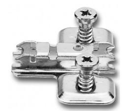BLUM CLIP krížová mont.podložka, predm. systém skrutky, VN:pozdl.otvor,odst.0mm