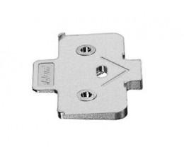 Krížový uhlový klin BLUM, -5° pre skrutkovaciu verziu, dištančná hrúbka:6 mm