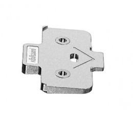 Krížový uhlový klin BLUM, +5° pre skrutkovaciu verziu so zvýšením 0,8mm