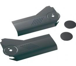 BLUM AVENTOS HL súprava krytiek, tmavosivý plast, 20L8000.01TG