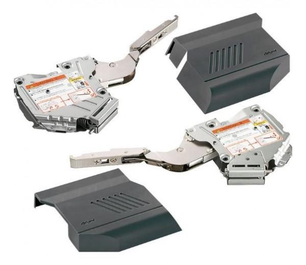 BLUM AVENTOS HK-S/TIP-ON súprava zdvíhačov,faktor výkonu 400-1000, tmavosivákonu 220-550, tmavosivá