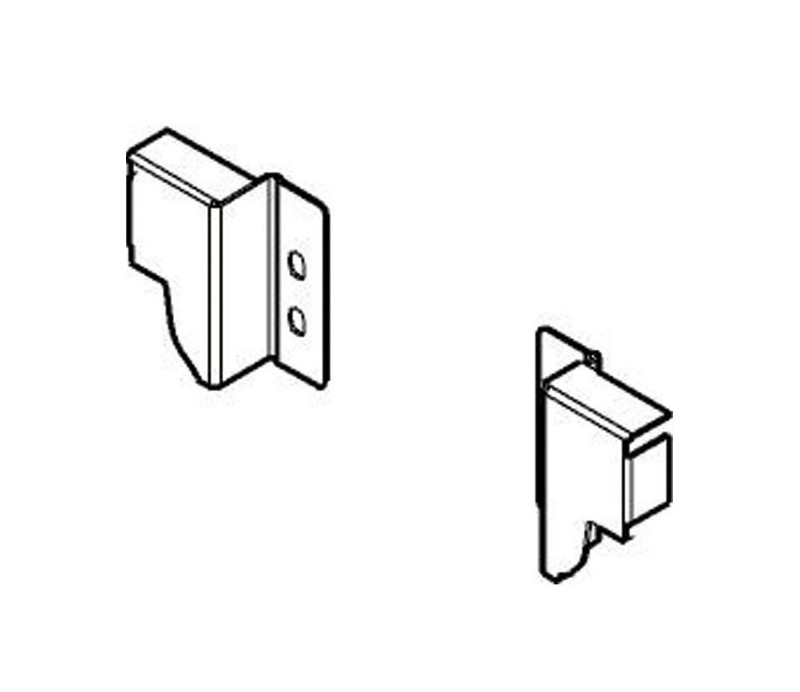 BLUM TANDEMBOX antaro držiak chrbta výška N, sivý