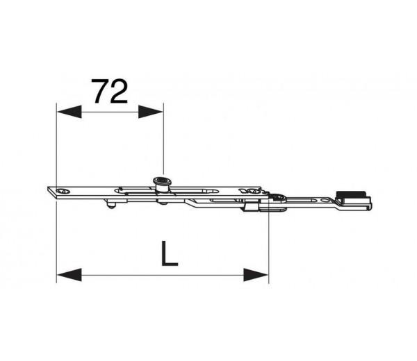MACO nadpajateľné  predĺženie 140 mm MULTI-MATIC