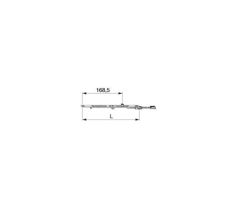 MACO nadpajateľné  predĺženie 235 mm MULTI-MATIC