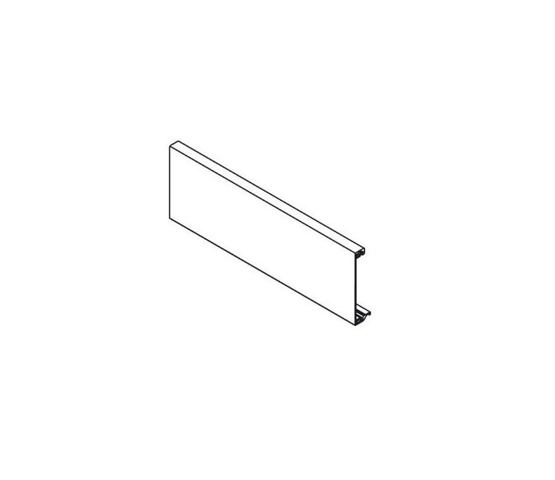 BLUM TANDEMBOX antaro predná časť bez drážky, sivý RAL9006