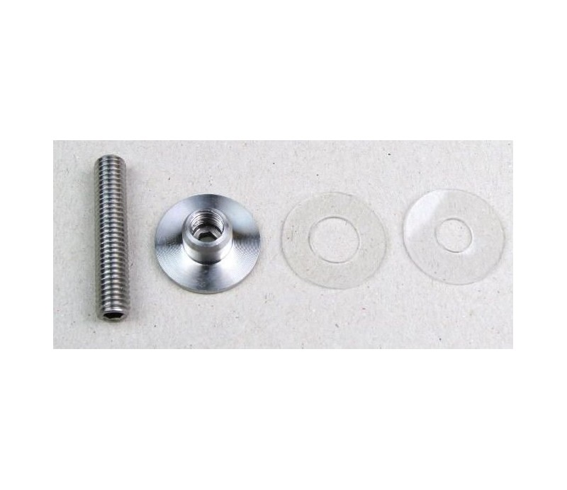 Jednostranný kotevný materiál pre sklo 1.3.GL 25 priamy 1ks