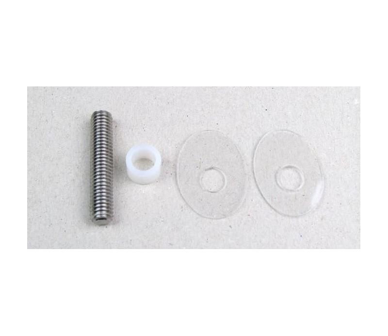 Obojstranný kotevný materiál pre sklo 2.4 GL 25 šikmý 1ks