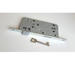 Zadlabávací zámok GEGE ergo BB, DM 50 mm, plastová strelka, rozteč 90 mm