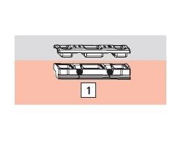 ROTO AL protikus VB 3/4 k zástrči na dvojkrídlové okno