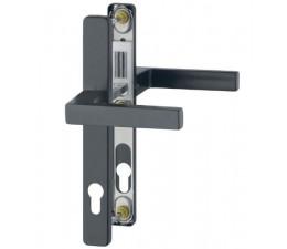 Dverová kľučka-kľučka Austin 30 mm čierna matná
