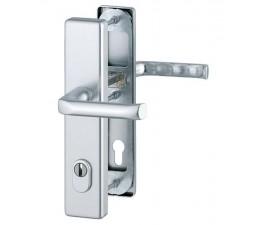 Dverová kľučka-kľučka London 54 mm s prekrytou cylindrickou vložkou