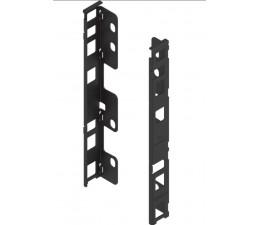 BLUM LEGRABOX držiak dreveného chrbta výška C, oceľ čierna