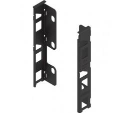 BLUM LEGRABOX držiak dreveného chrbta výška K čierny