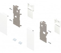BLUM LEGRABOX držiak čela vnútornej zásuvky výška K, oceľ biela