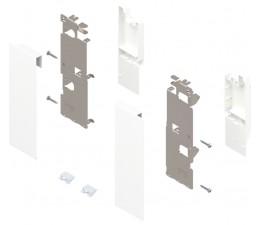 BLUM LEGRABOX držiak čela vnútornej zásuvky výška C/reling, oceľ biela