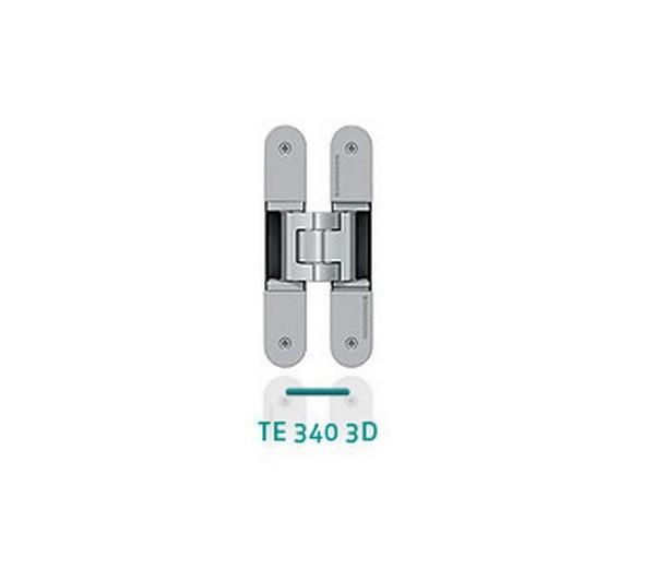 Záves na bezfalcové dvere TECTUS TE 340 3D