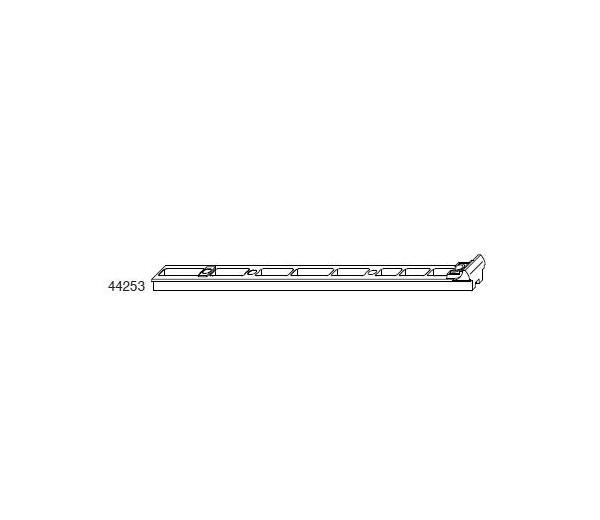 MACO plastová podložka pre hranovú zástrč pre kovaciu drážku