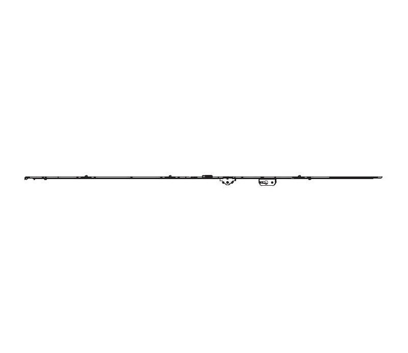 MACO uzamykateľná balkónová prevodovka 2201-2450 mm MULTI-MATIC