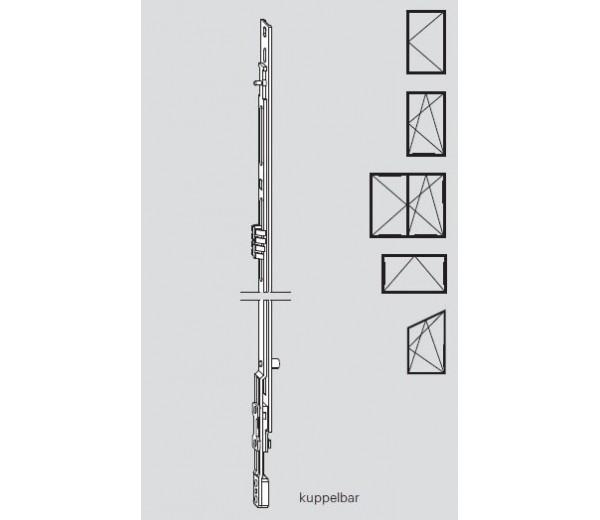 ROTO  stredný diel NT 600 mm č. N401A21206