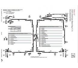 ROTO krídlový diel otváravého závesu č. N600A00026