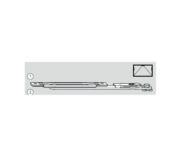 ROTO NT nožnica pre sklopné okno N734A01106