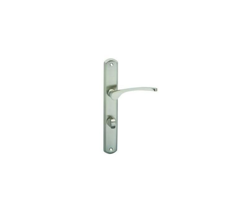 Interiérová kľučka COBRA - 28-33-4 - WC 90 nikel matný