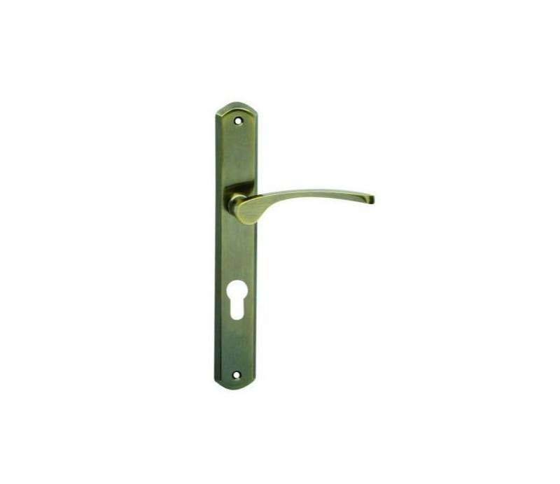 Interiérová kľučka COBRA - 28-49-3 - PZ 90  bronz česaný