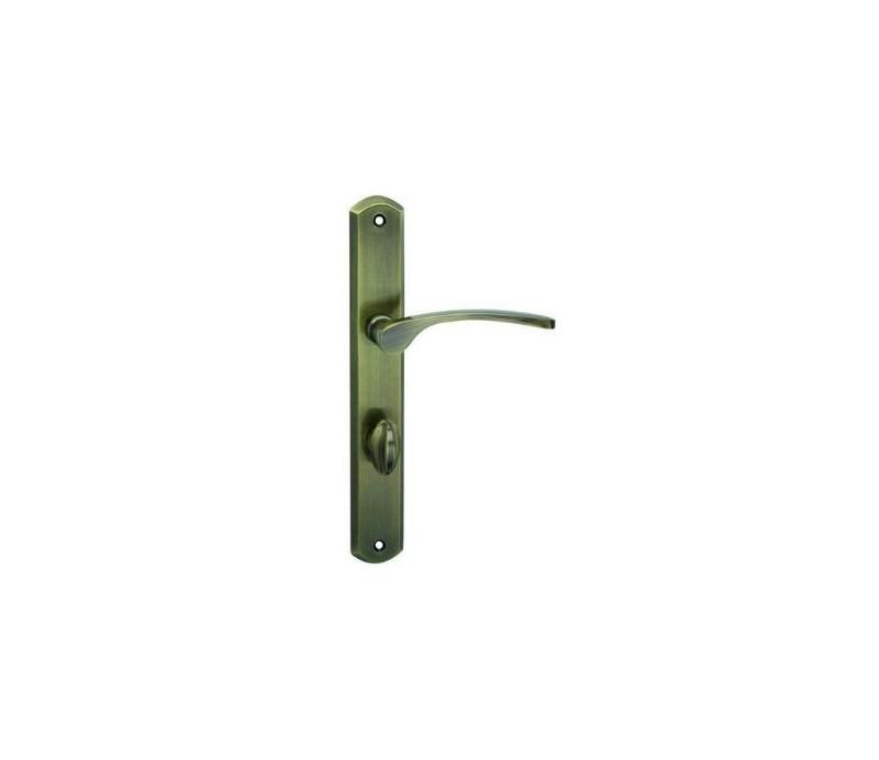 Interiérová kľučka COBRA - 28-49-3 - WC 90 bronz česaný