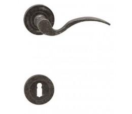 Interiérová kľučka COBRA  28-61-3 BB rustikálna
