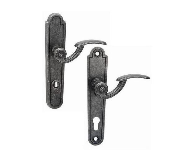 Interiérová kľučka COBRA 28-60-6 PZ 90 rustikálna čierna