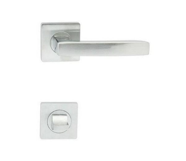 Interierová kľučka COBRA 29-22-4-S WC chróm matný