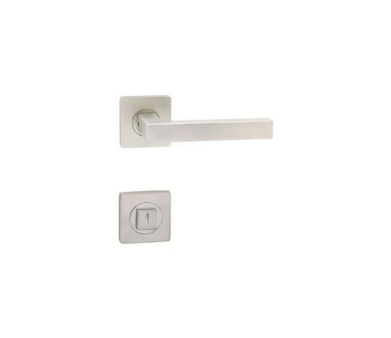 Interiérová kľučka COBRA 29-14-1-S WC nerez