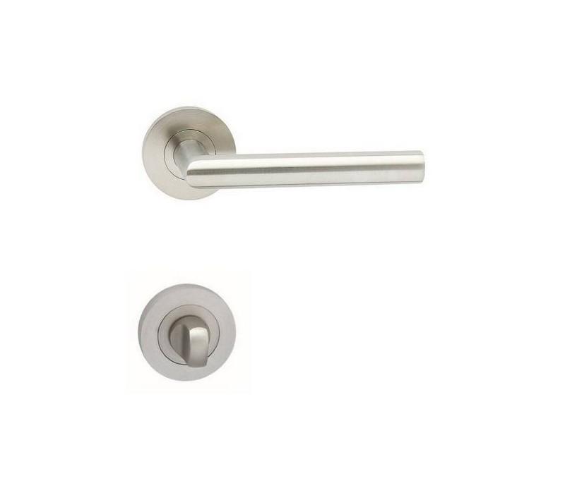 Interierová kľučka COBRA 29-16-5-R WC nerez