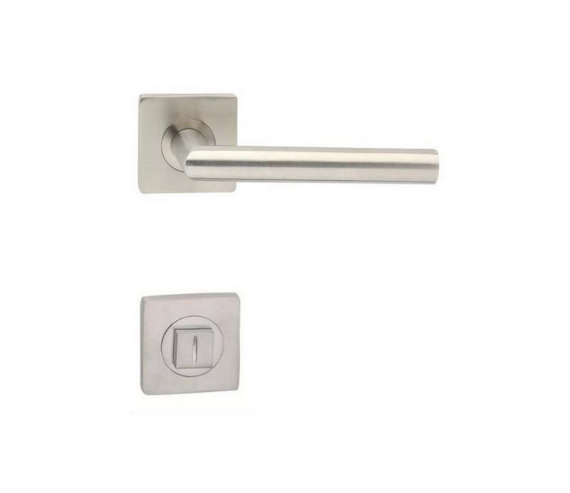 Interiérová kľučka COBRA 29-16-3-S WC  nerez