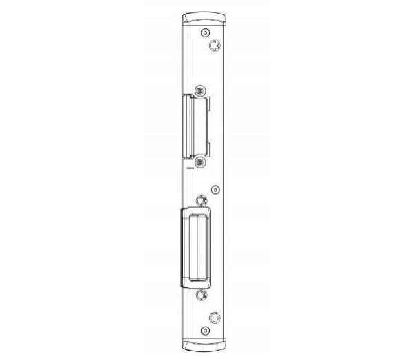 MACO hlavný dverný uzáver EH pre PVC U-6/32/9 Gealan