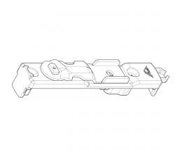 ROTO NT rohová zástrč do 16 mm drážky pro dřevo a plast