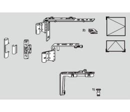 ROTO NT krytka držiaka nožníc a  závesu E5 pre drevo
