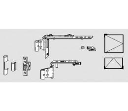 ROTO NT krytka krídlového závesu a nožnice pre drevo