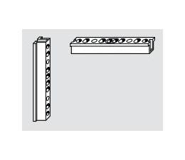 ROTO KSR rohová zástrč pre drevo hladký falc