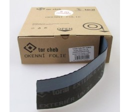 Vonkajšia fólia PP TORAL Super BOX UV 12, 70 mm - paropriepustná šedo-čierna