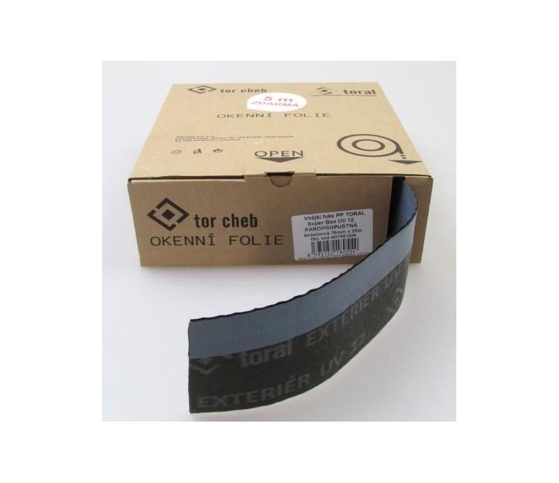 Vonkajšia fólia PP TORAL PLUS BOX 70 mm - PAROPRIEPUSTNÁ biela