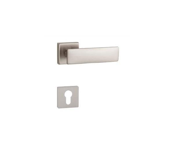 Interiérová kľučka COBRA 28-35-6 PZ nikel matný