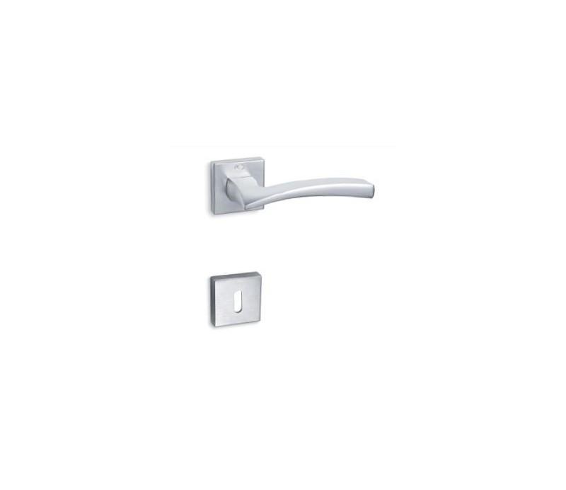 Interierová kľučka COBRA 29-24-1 WC chróm matný